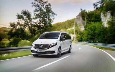 První elektrický van je na světě. EQV má 8 míst, moderní interiér a dojezd 405 km