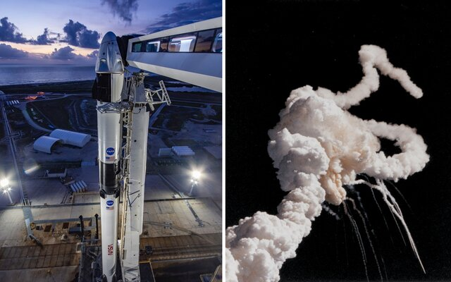 První let SpaceX s lidskou posádkou bude ve středu sledovat celý svět. Proč vůbec NASA musí pomáhat Elon Musk?