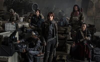 První oficiální fotka k Star Wars spin-offu Rogue One je venku!
