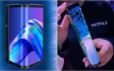 První ohebný smartphone už je ke koupi. Vypadá ohromně, ale recenzent ho nazval strašným