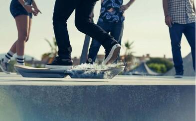 První opravdu fungující hoverboard je na světě. Podívej se, jak na něm vypadá jízda ve skateparku