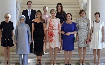 První pán mezi prvními dámami! Manžel lucemburského premiéra neváhal zapózovat s polovičkami světových lídrů