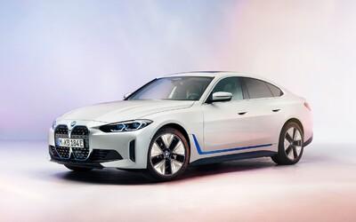 První pohled na elektrické BMW i4 potvrzuje vertikální masku a informuje o dojezdu 590 kilometrů