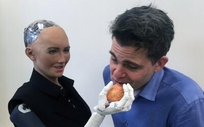 První robot, který dostal občanství, si chce založit rodinu. Sophia se společné budoucnosti lidstva a robotů nebojí
