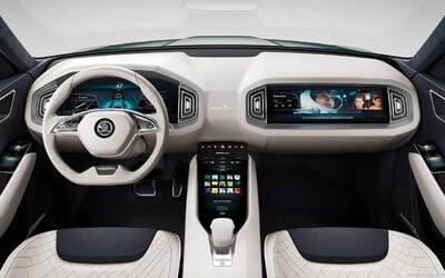 První SUV a zároveň hybrid značky Škoda, atraktivní koncept VisionS, nám ukázal interiér