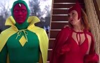 První trailer pro seriál WandaVision spojuje Scarlet Witch a Visiona. Budou cestovat časem a dimenzemi
