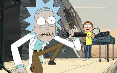 První záběry ze 3. série Ricka a Mortyho slibují našlapanou sci-fi jízdu
