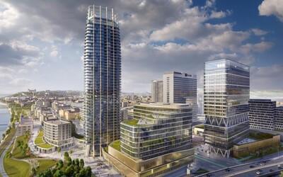 Prvý bratislavský mrakodrap Eurovea Tower má veľký problém. Povolenie na výstavbu mu zastavili