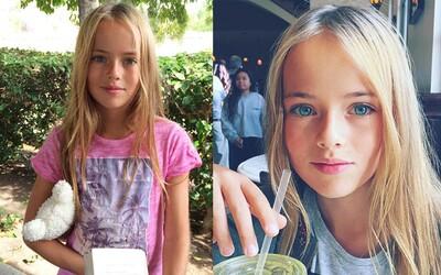 Prý nejkrásnější dívce na světě je 10 let, pochází z Ruska a právě podepsala lukrativní smlouvu v Los Angeles!