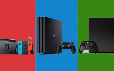 PS4 vs Xbox One vs Nintendo Switch. Ktorá súčasná konzola je najlepšia, má najzaujímavejšie hry a mal by si si ju kúpiť?