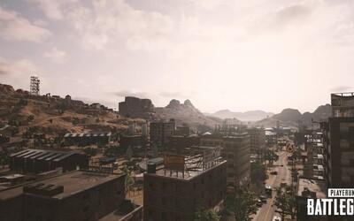 PUBG se dočká nové mapy! Vývojáři odhalili 4 screenshoty z pouštního prostředí