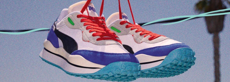 Puma se vrací s teniskami, které v 80. letech způsobily revoluci. Dnes s nimi cestuje časem