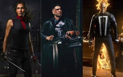 Punisher a Ghost Rider chcú masakrovať zločincov v spoločnej tímovke. Dočkáme sa jej?