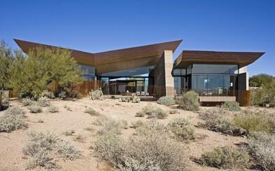 Púštna rezidencia, ktorá je vzorovou ukážkou modernej architektúry