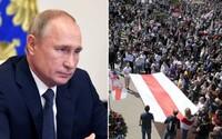 """Putin prisľúbil Bielorusku pomoc. Ak bude treba, Moskva """"zaistí bezpečnosť v krajine"""""""