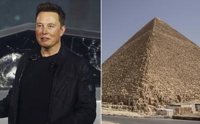 Pyramídy postavili mimozemšťania, napísal Elon Musk. Egyptská ministerka ho pozvala na exkurziu, aby spoznal pravdu