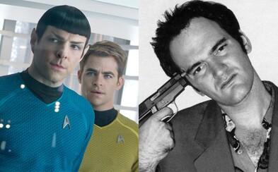 Quentin Tarantino má po ďalších dvoch filmoch odísť do dôchodku. Režírovanie Star Treku by ale jeho názor zmenilo