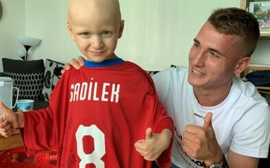 Rád bych pomohl všem, říká fotbalista Michal Sadílek, který daroval půl milionu korun na boj s koronavirem (Rozhovor)