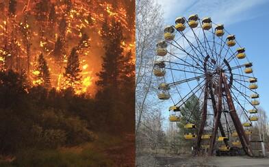 Rádioaktívny les pri Černobyle začal horieť. Vietor rozfúkaval dym do okolia, ale podľa úradov je zamorenie pod prijateľnými limitmi