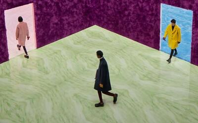 Raf Simons nezůstal nic dlužen své pověsti. Debutová pánská kolekce pro značku Prada nabízí eleganci i syrovost ulice