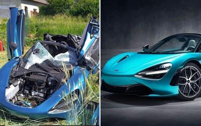 Rakúšan pri Slovakia Ringu vletel na luxusnom McLarene za viac ako 200-tisíc eur do cesty rozbehnutému vlaku