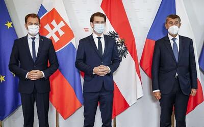 Rakúsko aj Česko dnes oficiálne potvrdili druhú vlnu koronavírusu