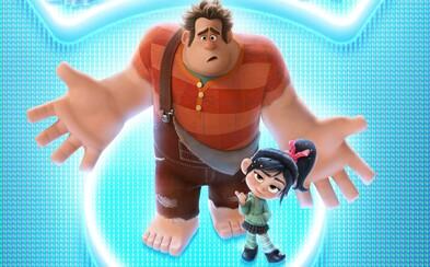 Ralph rozbíja internet a Vanellope spoznáva Wonder Woman a princezné z Disney. Pokračovanie skvelého animáku vnadí vtipným trailerom