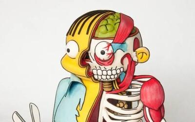 Ralph Wiggum zo Simpsonovcov ako neuveriteľná torta