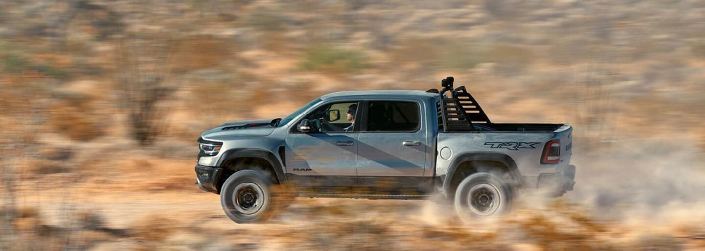 RAM představuje 712koňové monstrum, nejvýkonnější a nejrychlejší pick-up na světě!
