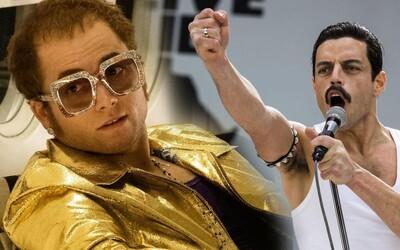 Rami Malek alias Freddie Mercury se měl objevit v Rocketmanovi po boku Eltona Johna. Proč se tak nestalo?