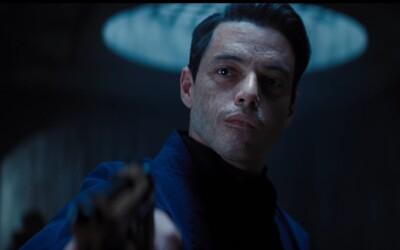 Rami Malek chce zabít Jamese Bonda. Sleduj novou ukázku pro No Time to Die v hlavní roli s Aston Martin