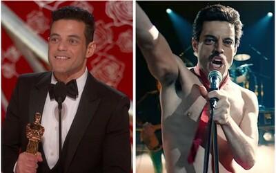 Rami Malek je najlepší herec a Bohemian Rhapsody získalo štyroch Oscarov