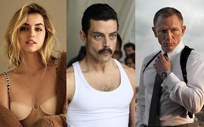 Rami Malek si zahrá záporáka v novom Bondovi. Rozlúčku s Danielom Craigom skrášli pôvabná Ana de Armas