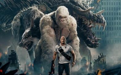Rampage s The Rockom podľa zahraničných kritikov zlomilo prekliatie videoherných adaptácií. Film je údajne totálne bláznivá akčná pecka