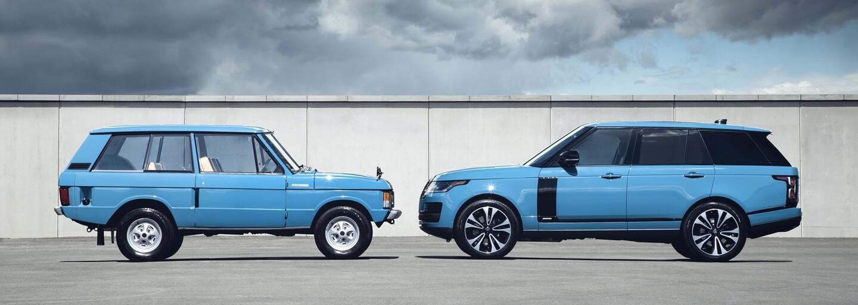 Range Rover oslavuje 50. výročí modelem odkazujícím na slavnou minulost