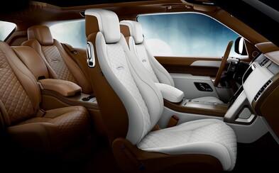 Range Rover uvádza SUV klenot, ktorý má len jeden pár dverí a ultra-luxusný dvojfarebný interiér