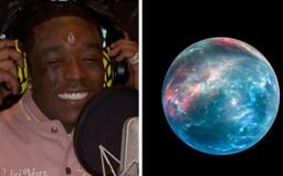 Raper, který si do čela implantoval diamant za 24 milionů dolarů, si nyní chce koupit planetu