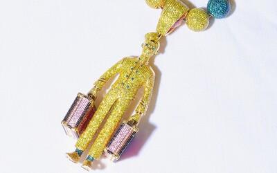 Raper Tyler, the Creator, si kúpil náhrdelník s podobizňou hotelového nosiča batožiny. Stál ho viac ako 420 000 eur