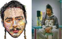 Raper vytvára realistické portréty celebrít len za pomoci Apple emotikonov