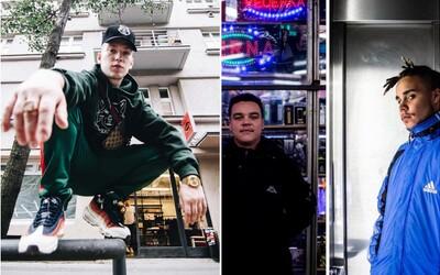 Rapová nálož z Brna. Kojo, Shxrty a Maniak dávají zabrat Fadexově hudbě
