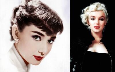 Řasy oddělované špendlíkem, vytržené zuby i elektrolýza. Co se skrývalo za krásou Marilyn, Audrey a dalších hvězd?