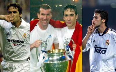 Raúl - sympatický a nekompromisný zakončovateľ, ktorý patrí medzi najlepších hráčov histórie Realu Madrid