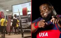 Ray Williams překonává rekord a stává se prvním mužem, který dřepl 456 kg raw!