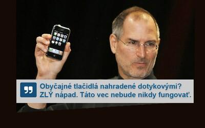 Reakce lidí na úplně první iPhone tě rozesmějí i zarazí. Někteří ho odsuzovali, jiní už předpovídali smrt jiných značek