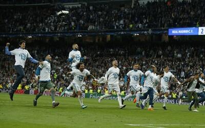 Real Madrid potvrzuje, že je nejlepším týmem historie a vyhrává Ligu mistrů potřetí v řadě