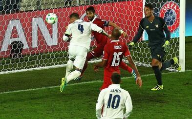 Real Madrid v závere zápasu aj v závere predĺženia zaskočil Sevillu a raduje sa na úvod sezóny z trofeje!