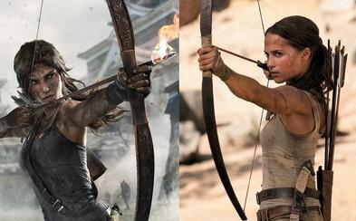 Reboot slávnej hry Tomb Raider s Aliciou Vikander bude podľa herečkiných slov poctou klasike, ale objavia sa v ňom aj prekvapivé prvky