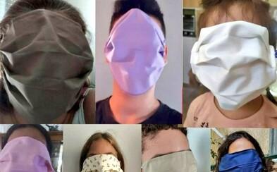 Řecká vláda poslala dětem roušky přes celý obličej, lidé se baví