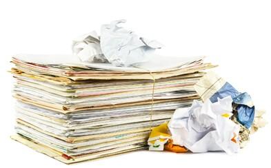 Recyklovanie v novom svetle. Kancelársky nábytok dokáže meniť použitý papier za nový