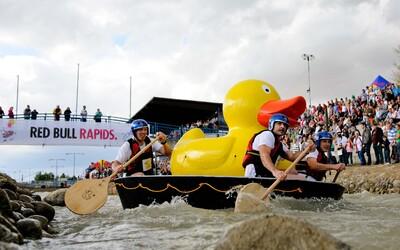 Red Bull Rapids po druhýkrát na Slovensku, zaži s kamarátmi bláznivé dobrodružstvo na vlastnom plavidle aj ty!
